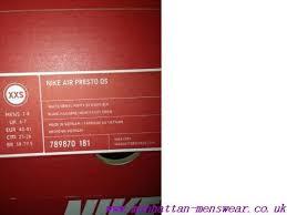 Nike Air Presto Breeze Quickstrike Black Manhattan Menswear