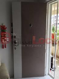 bedroom door installation. Delighful Bedroom Laminate HDB Main Door With Normal Lock On Bedroom Installation I