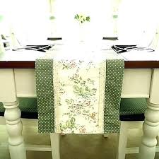 table runner dimensions table runner length try french style poly cotton runners dimensions for round table