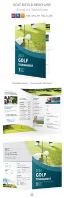 Golf Tournament Bifold / Halffold Brochure By Mike_Pantone ...