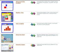 Eighth Grade Interactive Math Skills Virtual Manipulatives