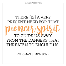 Mormon Quotes Adorable A Year Of FHE 48 Quotes About Mormon Pioneers To Inspire Modern
