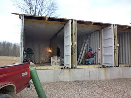 How To Build Tin Can Cabin For Building A House Out Of Shipping Containers