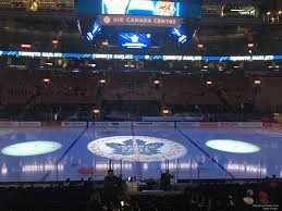 Scotiabank Arena Section 108 Toronto Maple Leafs