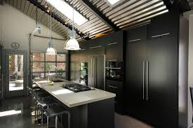 industrial kitchen by renovation design group renovation design group ceilings