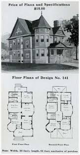 1910 Dutch Colonial Revival  The Bungalow House  Henry Wilson Gambrel Roof House Floor Plans