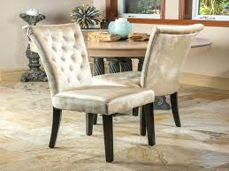 tufted dining room chairs best of nailhead trim dining chairs set of 2 room champagne velvet w tufted accents stylish astat