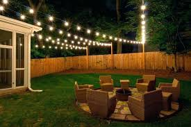 How To Hang String Lights In Backyard Without Trees Classy Amazing How To Hang String Light Without Tree Hanging In Backyard