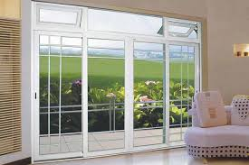 aluminum alloy sliding patio door design