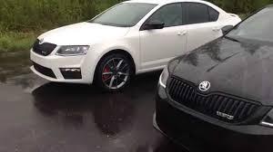 Skoda Octavia RS. Black or White?Combi or Hatchback? - YouTube