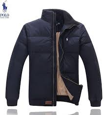 brand new polo ralph lauren mens down winter jacket outer coat small pony navy blue medium