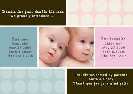 twin birth announcements photo cards twins announcement cards birth cards for twins twin birth