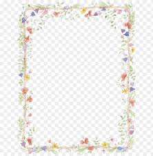 Free Border Downloads For Word Free Flower Borders For Word Document Add Printable