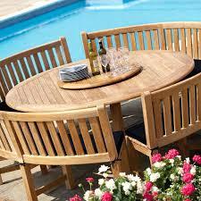 round table garden furniture outdoor furniture teak large round table image 1 ceramic garden table sets