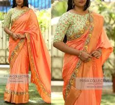 Boat Neck Blouse Designs For Saree 12 High Neck Blouse Designs You Should Consider For Silk
