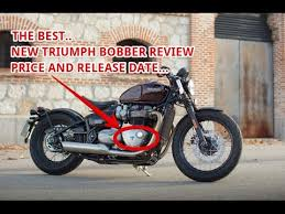 the best new 2017 triumph bobber review and price youtube