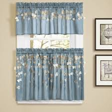 cute teal kitchen curtains your home