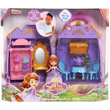 Sofia The First Bedroom Just Play Disney Sofia The First Bedroom Castle Case Playset Ebay