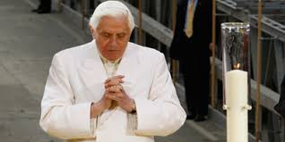 Image result for pope benedict ground zero