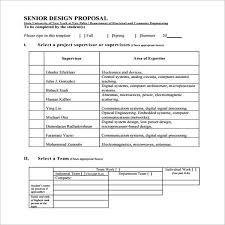 Design Proposal Template Free Download Doc Pdf Excel