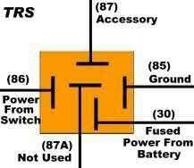 4 pin relay wiring diagram diagram pinterest relay diagram 5 pin at Automotive Relay Wiring Schematic Explained