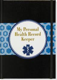 Personal Health Record Keeper And Logbook Peter Pauper Press
