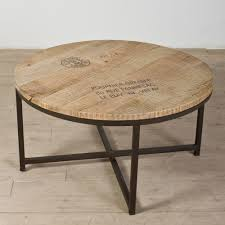 steel and coffee table inspirational industrial coffee table with round reclaimed en top round steel and wood