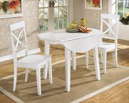 luxury round drop leaf dining table 29 white