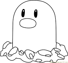 Small Picture Diglett Pokemon Coloring Page Free Pokmon Coloring Pages