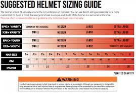 Riddell Girdle Size Chart 52 Judicious Football Helmet Sizing Chart