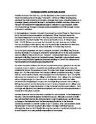 literary essay on macbeth macbeth literary critic essay 801 words bartleby