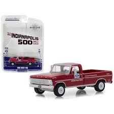 1968 Ford F-100 Pickup Truck With Long Bed Red