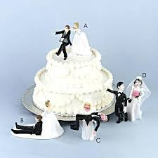 Wedding Cake Funny Toppers Funny Wedding Cake Toppers