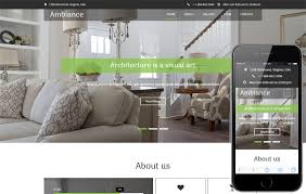Ambiance An Interior And Furniture Category Flat Bootstrap Fascinating Ambiance Interior Design