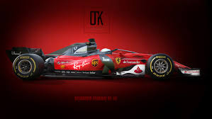 2018 ferrari red. contemporary 2018 2018ferrariconceptwithnewhalodesign in 2018 ferrari red