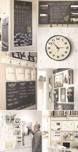 kitchen office organization. ideas for setting up a family command center in the kitchen office organization