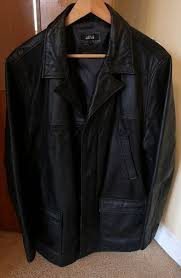 as new gents leather jacket thomas nash debenhams