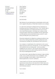 cover letter retail sales assistant retail cover letter for resume digiart