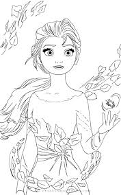 Planse de colorat cu printese. Elsa Fise De Colorat Cu Printese Free Coloring Frozen Elsa Frozen 2 Colouring Pages Novocom Top