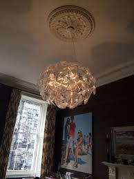 chandelier installation 2