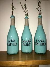 Milk Bottle Decorating Ideas Enchanting Wine Decorations For The Home Old Bottle Decorating 49