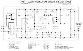 circuit breaker circuit diagram ireleast info circuit breaker wiring circuit