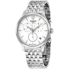wristwatches in brand tissot case color white features perpetual tissot t classic collection stainless steel mens watch t0636171103700