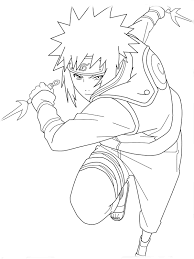 Naruto Coloring Book Pictures Printable Free Pages For Kids