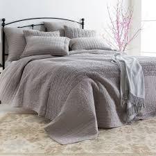 Light Gray Bedspread Surya Lindon Light Gray Quilt Laylagrayce Bedding Bath