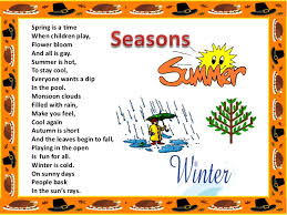 weather and seasons <br > 3