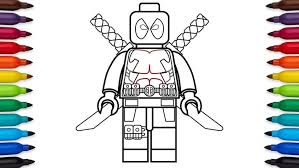 Coloring Pages Ideas Maxresdefault Awesome Lego Avengers Coloring