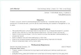 Resume Of Trainer Sales Trainer Resume Fitness Resume Examples Free For Download