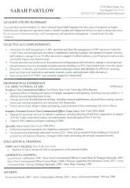 Military Resume Writers Awesome Example Of A Military Resume Writerscom Kindredsoulsus