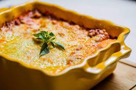 Resultado de imagem para lasanha de polenta a bolonhesa
